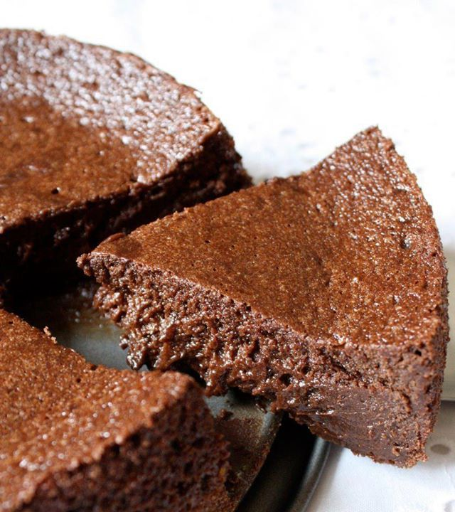 Gâteau mousseux au nutella, sans beurre
