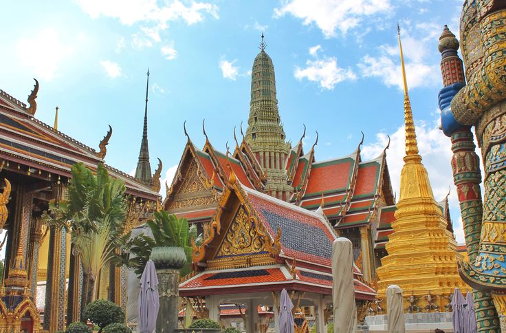 Bangkok's Grand Palace  #bangkok #grandpalace