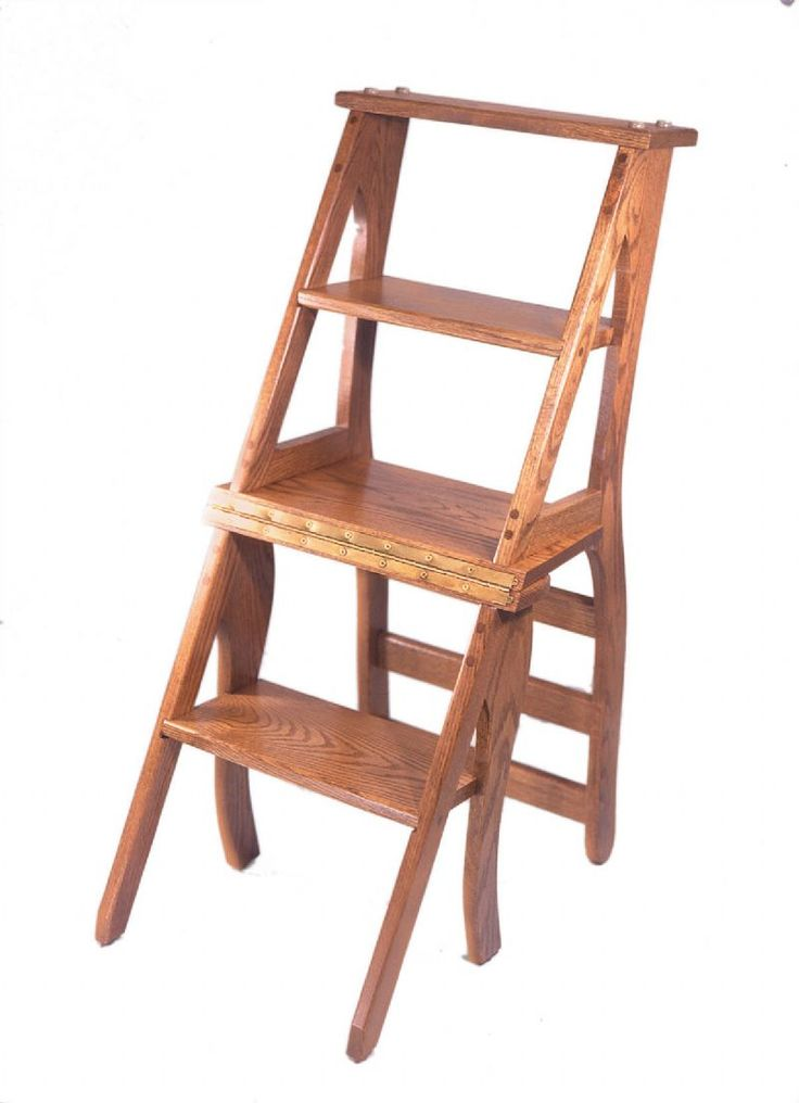 Amish Library Chair And Step Stool Combo Google Images
