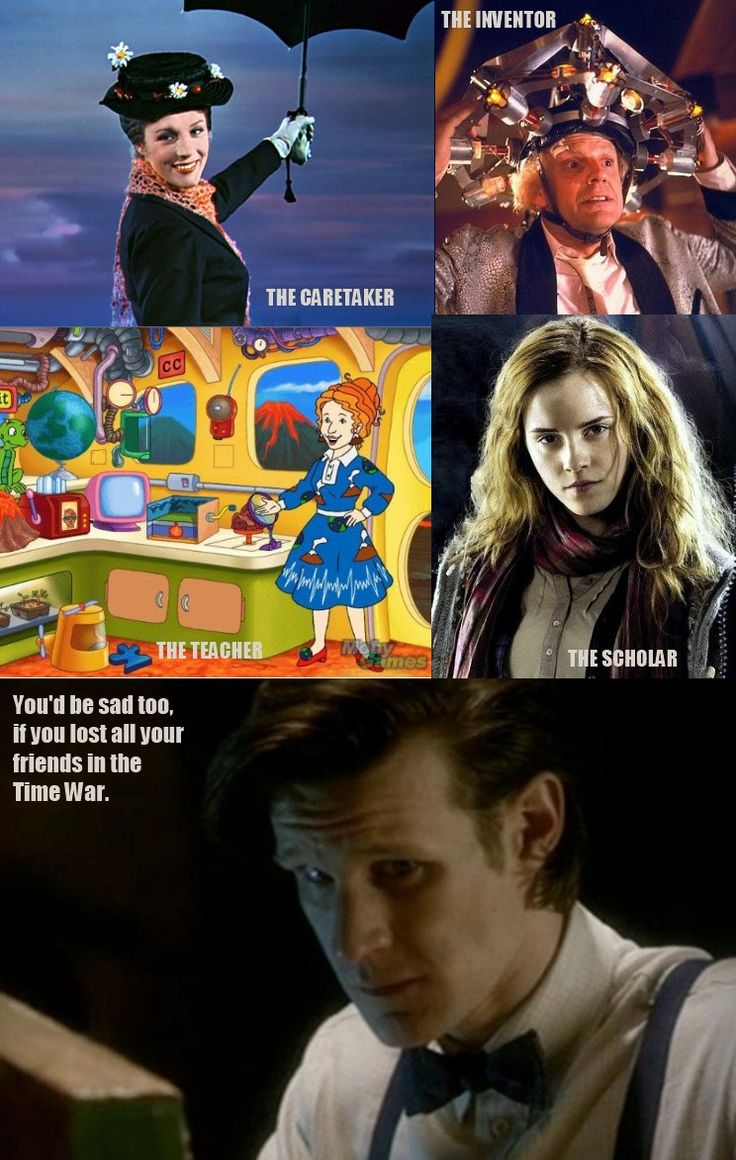 TimeLords were such an amazing species, but you'd be sad too if lost all your friends in the Time War.