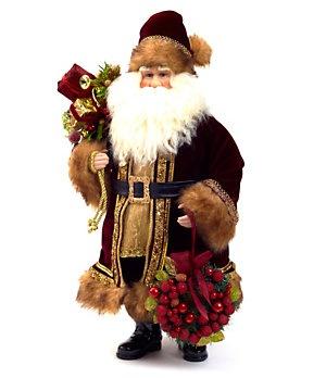48 Best Santa Figurines Images On Pinterest Santa