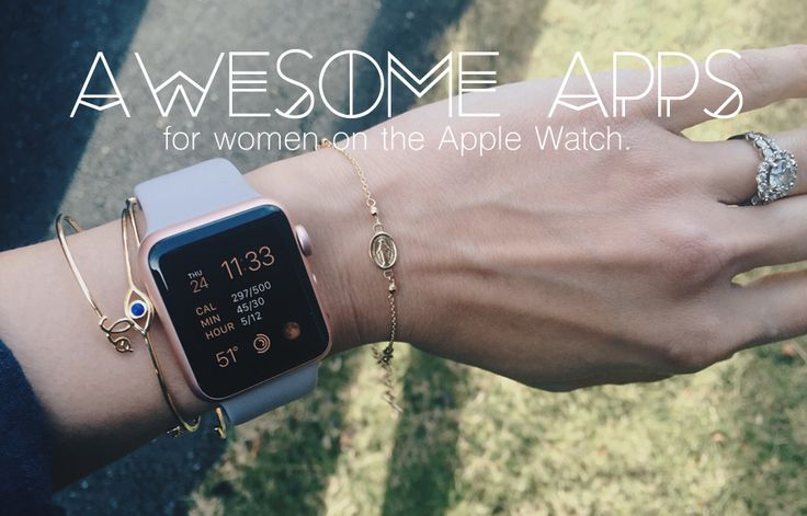 In my quest for productivity and pushing my boundaries this year, I've been testing out some apps on the Apple Watch, and here are some of my best finds so far. As a woman, these are particularly of benefit to me, but men can likely appreciate many of these, too. Read on!