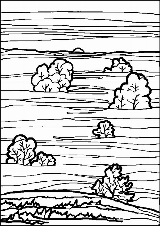 landschaften malvorlagen  malvorlagen ausmalen ausmalbild