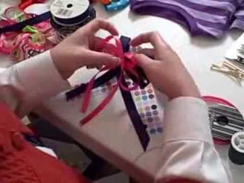 How To Make Hair Bows. Easiest to follow and love the turnout!