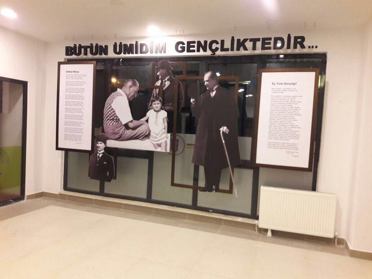 Çerçeveli Atatürk Köşesi #1