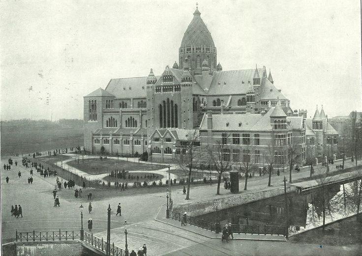 Haarlem, de Kathedraal in 1908