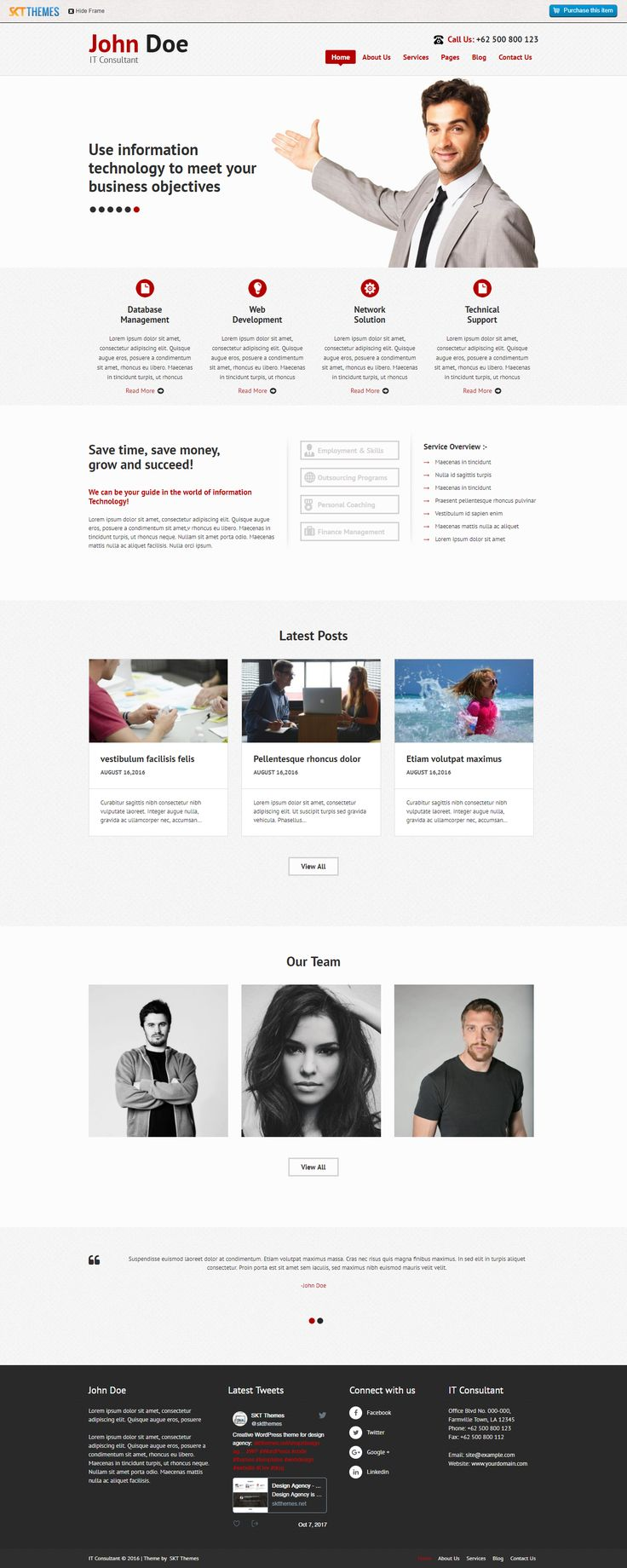 8 best free wordpress business themes images on pinterest download free consultancy wordpress theme for agency and business websites accmission Image collections