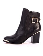 Diavolina Ankle Boot W Buckles #davidjones #winter #style #fashion #boot #leather