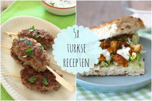 6x Turkse recepten - Lekker en simpel