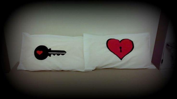 Add some fun to your #bedroom #pillows!  #doridesign #reuse #recycle #art #creativity #design #diy