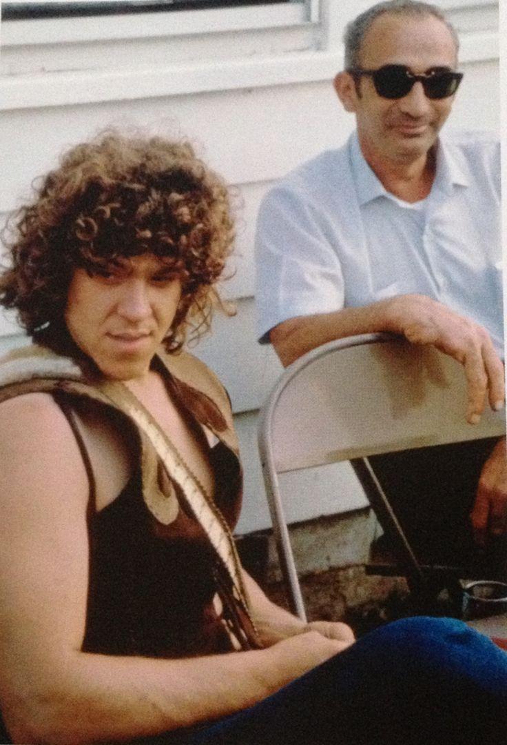 "Michael Lang w/ the ""Angel of Woodstock"" aka Max Yasgur."