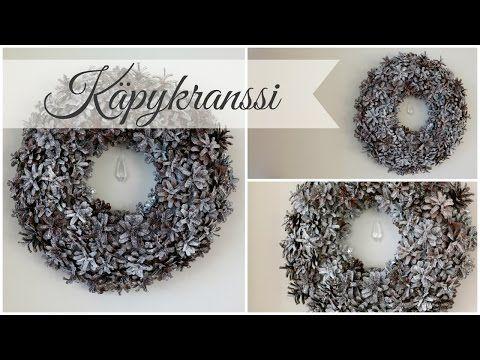 DIY | Käpykranssi - YouTube