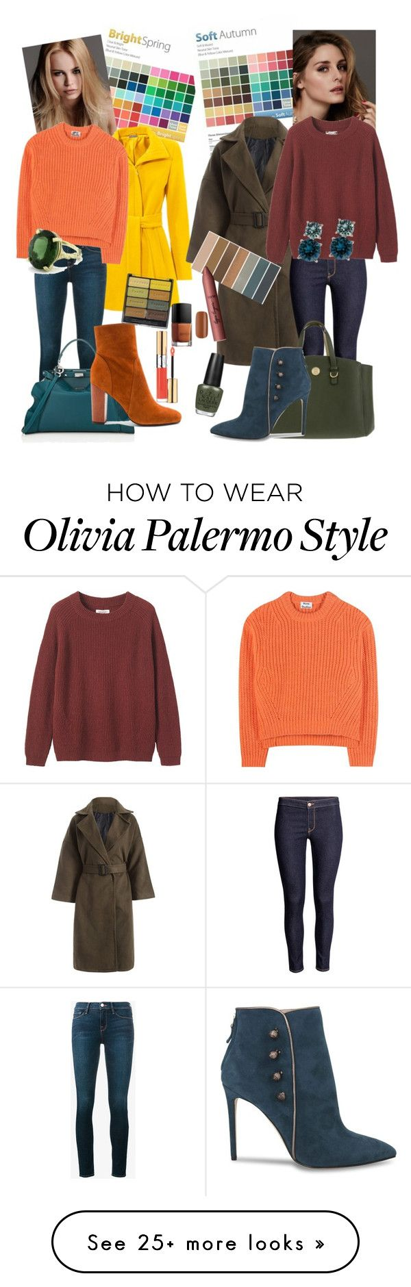 """This is for the warm blondes"" by confusioninme on Polyvore featuring KAROLINA, Frame Denim, Beauty Secrets, Acne Studios, Toast, Fendi, 10 Crosby Derek Lam, Tommy Hilfiger, Black Radiance and Yves Saint Laurent"