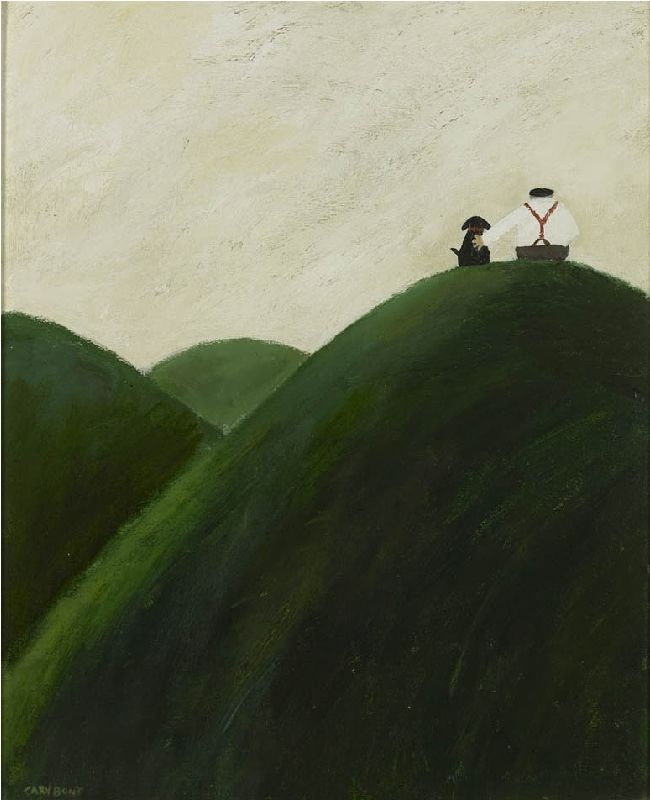 Gary Bunt   The View --On top of the world Taking in the view Nobody else Just me and you