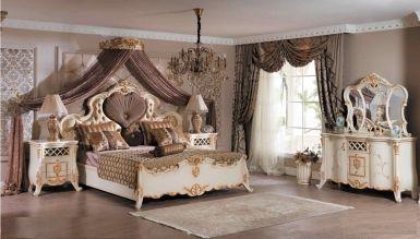 532 - Lüks Grand Klasik Yatak Odası