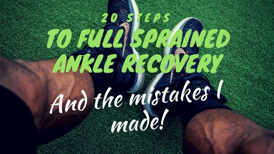 As someone who has suffered from quite a severe ankle sprain, I learned quite a bit about what helps boost full sprained ankle recovery but more about
