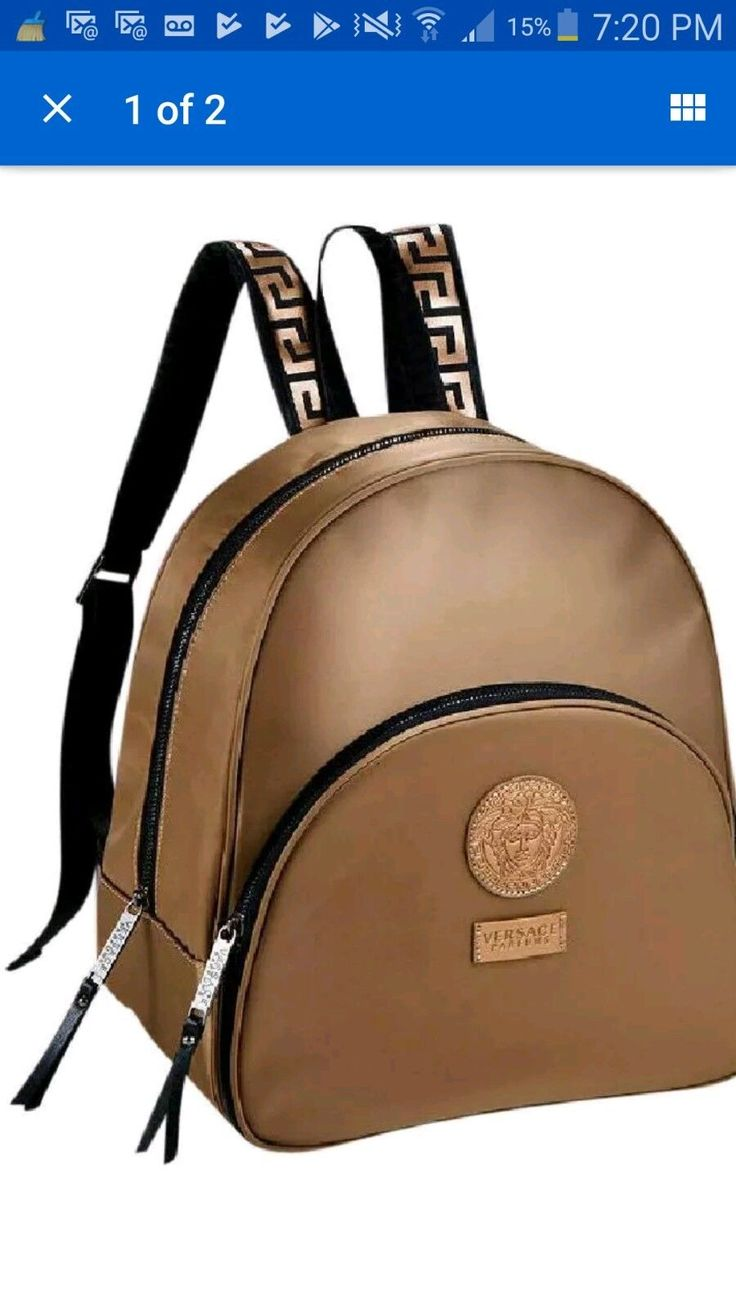 versace gift set with backpack