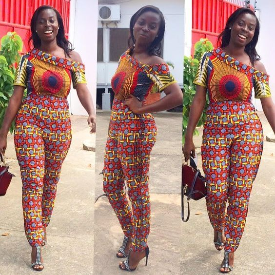 52e6e0d9146 The Most stylish african ankara jumpsuit styles for sexy ladies