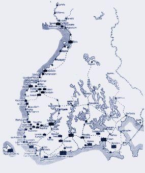 Venäläisten joukkojen sijoitus ja Suomen rautatieverkko 1917