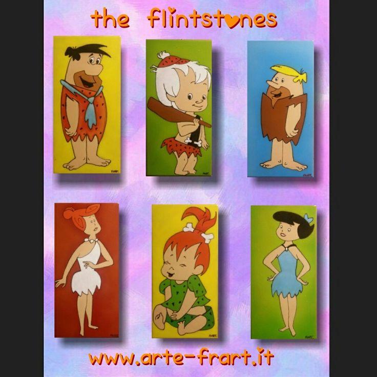 The Flintstones Instagram arte.frart