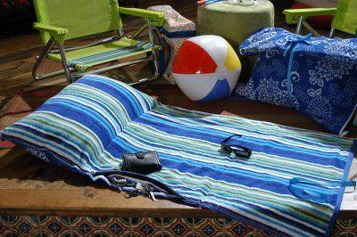25 Mantas de bricolaje para la playa, la piscina o la comida campestre