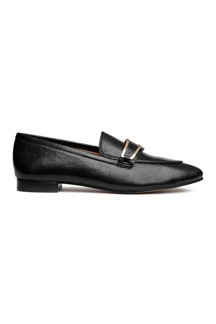 Leather loafers Model