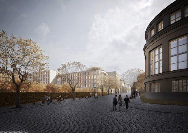 Kampus Albertov NOVOSTAVBY UK   znameniiii - architekti s.r.o.