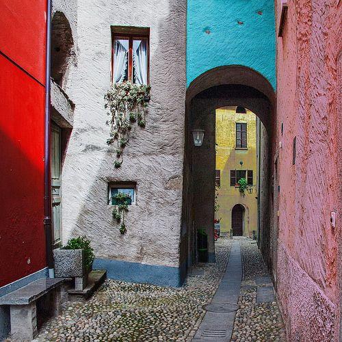 Colored alley - Switzerland