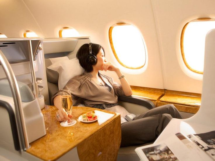 Business Class on Emirates