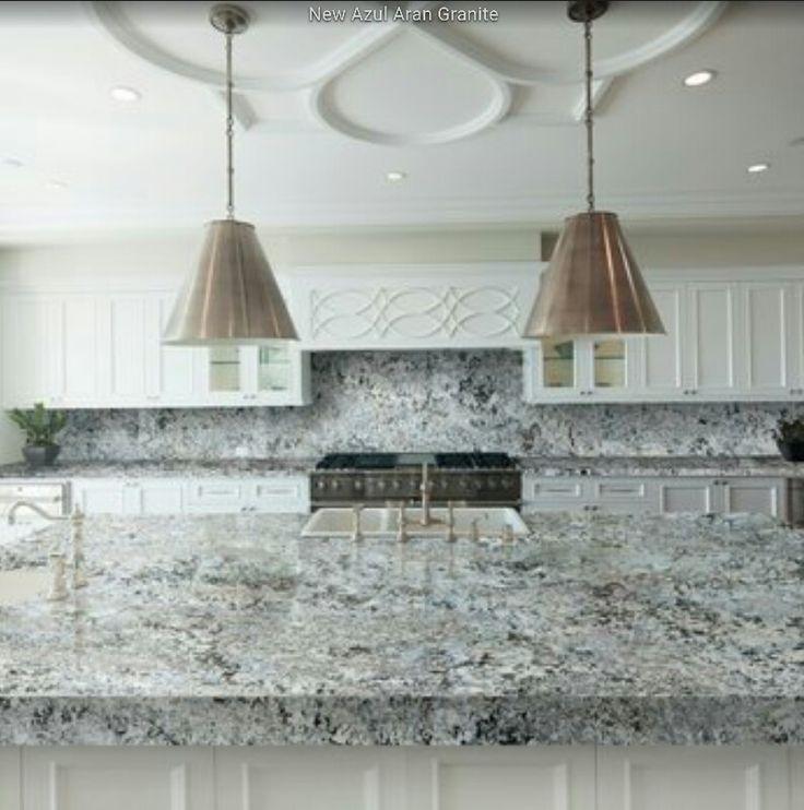 Azul Aran Granite Backup Bath Ideas Pinterest