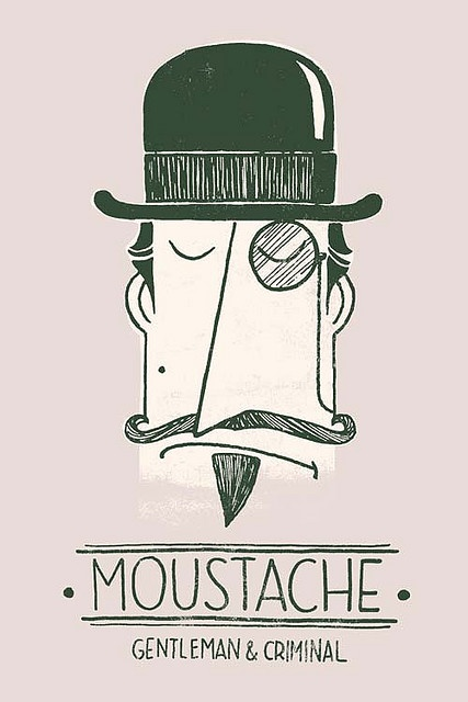 Potential t-shirt design for Movember