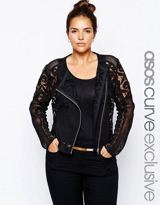 ASOS Curve | ASOS CURVE Premium Lace Jacket