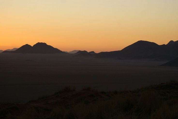 Magic hour Namib