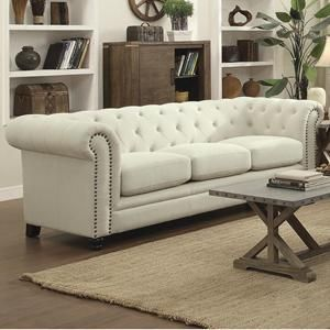 Roy Sofa in Cream | Nebraska Furniture Mart
