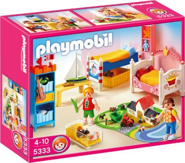 5333 Playmobil Grote Kinderkamer