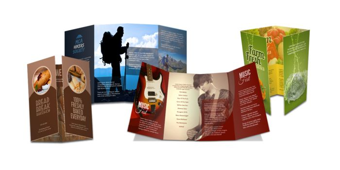 Double Gate Fold Brochure | Vics Bike Shop | Pinterest | Search ...