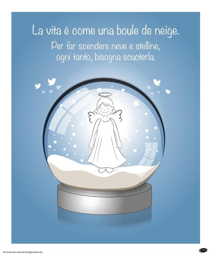 Twitter / Angioletto9: La vita è come una boule de ...