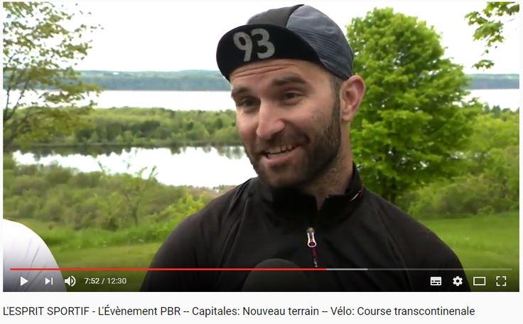 L'ESPRIT SPORTIF - L'Évènement PBR -- Capitales: Nouveau terrain -- Vélo: Course transcontinenale