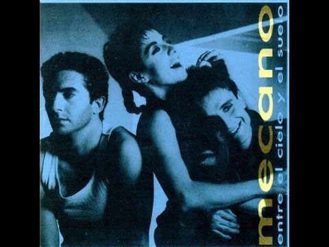 """Letra de la canción """"Me cuesta tanto olvidarte"""", del grupo Mecano. Año 1986."""
