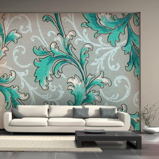 Abstract blue wallpaper design