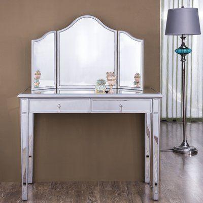 Elegant Lighting Chamberlan Contemporary Vanity with Mirror