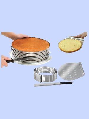 Genius!  Zenker 8 Layer Cake Slicing Kit 7 Layer Cake Decorating