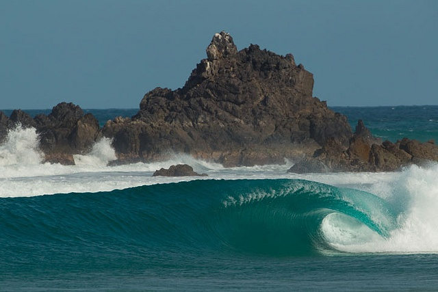 Perfect barrel in Mexico #Surfing