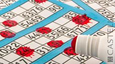 """On this day: The game """"Bingo"""" invented by Edwin Lowe 1929   (Source: Castelli 2017 corporate diary/2017 diaries feature facts every day)"""