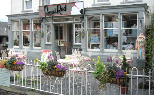 Poppy Red, Hawkshead  Another emporium of loveliness also great cafe too.