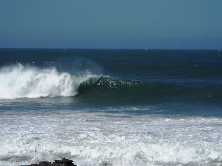 Big waves are unusual for Mooloolaba. The sight and sound of the waves was impressive