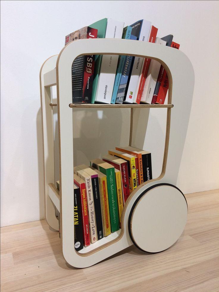 fleimio mini white (reg) w books @ Stockholm Furniture Fair 2017