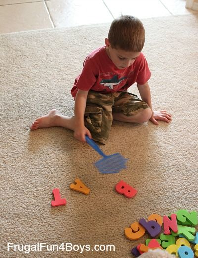 Here is a fun game for beginning readers that involves a great attention-catching element… slapping with a fly swatter! Owen (almost 5) has been very interested in learning to read lately, mainly to keep up with his brothers. He's not quite developmentally ready yet, so we'll be taking it very slow. He knows most of …