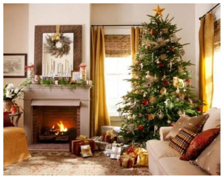 Decoration, Cheap Artificial Christmas Trees Country Living Room Christmas  Decorating Ideas Ideas For Decorating A Small Living Room Space: Personable  30 ... Part 61