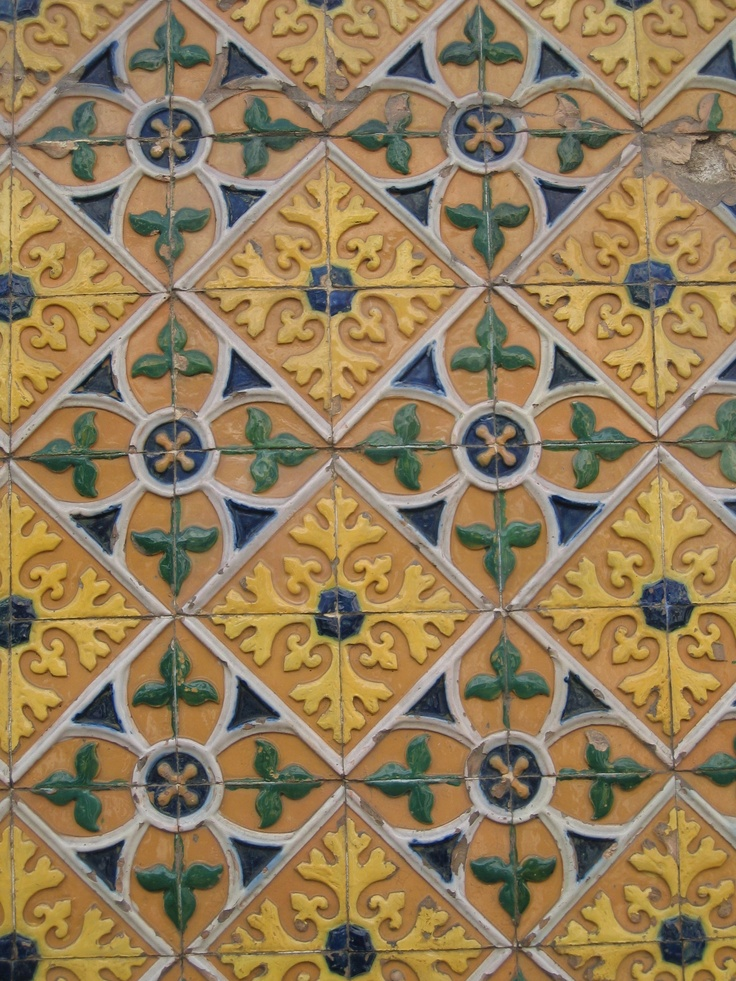 Lisboa Portugal Handmade Tiles Can Be Colour Coordinated